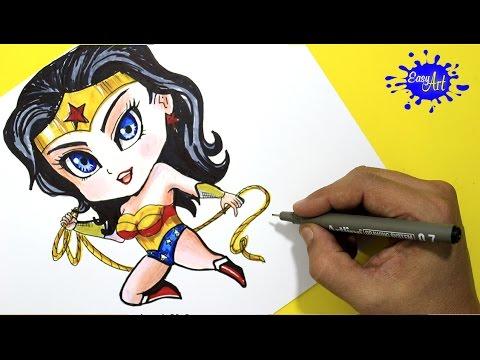 How To Paint Wonder Woman Batman V Superman Como Pintar La Mujer