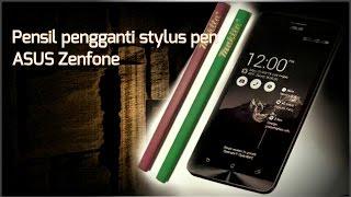 pensil pengganti stylus pen di hp asus zenfone