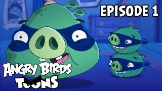 Angry Birds Toons | Royal Heist  - S3 Ep1