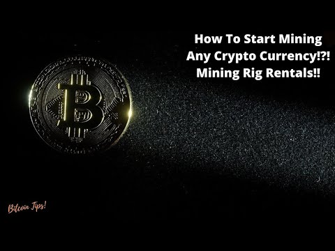 How To Start Mining Any Crypto Currency In 2021!! Mining Rig Rentals Tutorial!! #mining #bitcoin