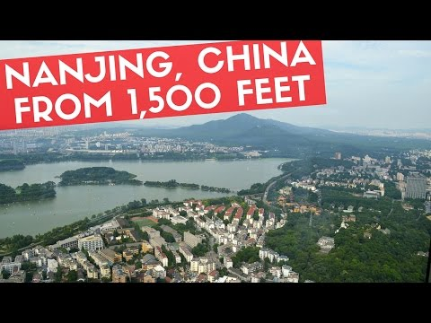 NANJING FROM 1,500 FT | Zifeng Tower Observatory (450m)
