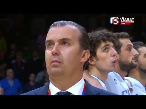 Eurobasket 2015 1/4 Finale  Lithuania VS  Italy