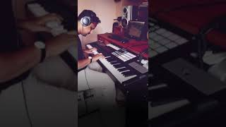 film scoring திரைப்பட இசை With Maschine And digital Piano #shorts