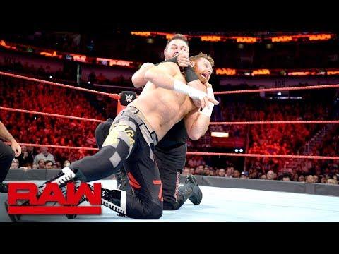 Sami Zayn vs. Kevin Owens - Winner earns a Raw Contract: Raw, April 9, 2018