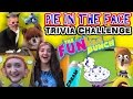 PIE IN THE FACE! FUNkee Bunch TRIVIA CHALLENGE GAME! w/ Blueberries & Shaving Cream (Messy Fun)