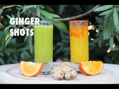 Anti Inflammatory and Immunity Boosting Ginger Shots