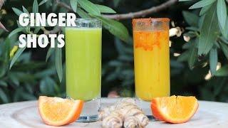 Anti Inflammatory And Immunity Boosting Ginger Shots