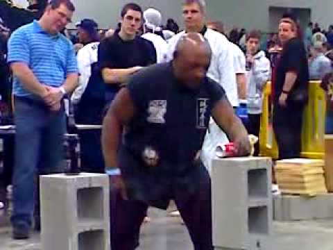 Grandmaster Elton Trower – Breaking Demo At Arnold Classic 2010