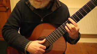 ASTURIAS [Leyenda ] by  Issac Albeniz  Guitar Tutorial PART 3