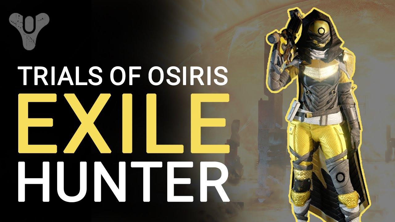 Destiny Trials Of Osiris Full Exile Hunter Gear Armour