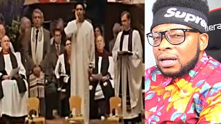 CATHOLIC REACTS TO Muslim Call To Prayer In A Church - Most Beautiful Azan