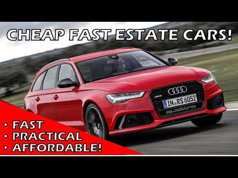 Cheap Fast Estate Cars! Budget Audi RS6 Alternatives! [Second Hand Superheroes]