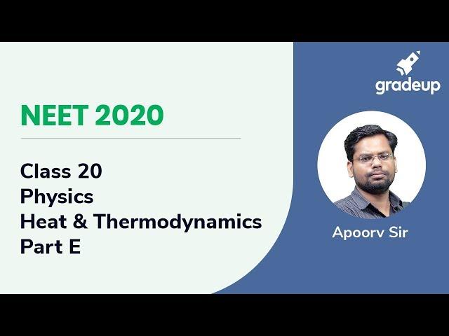 NEET 2020 | Heat and Thermodynamics - Part E | Physics | Class 20