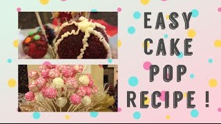 Easy Cake Pop Recipe - Someone is Six! - Cool Calm and Mom