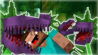 Minecraft Mod Showcase : MAN EATING PLANTS MOD!
