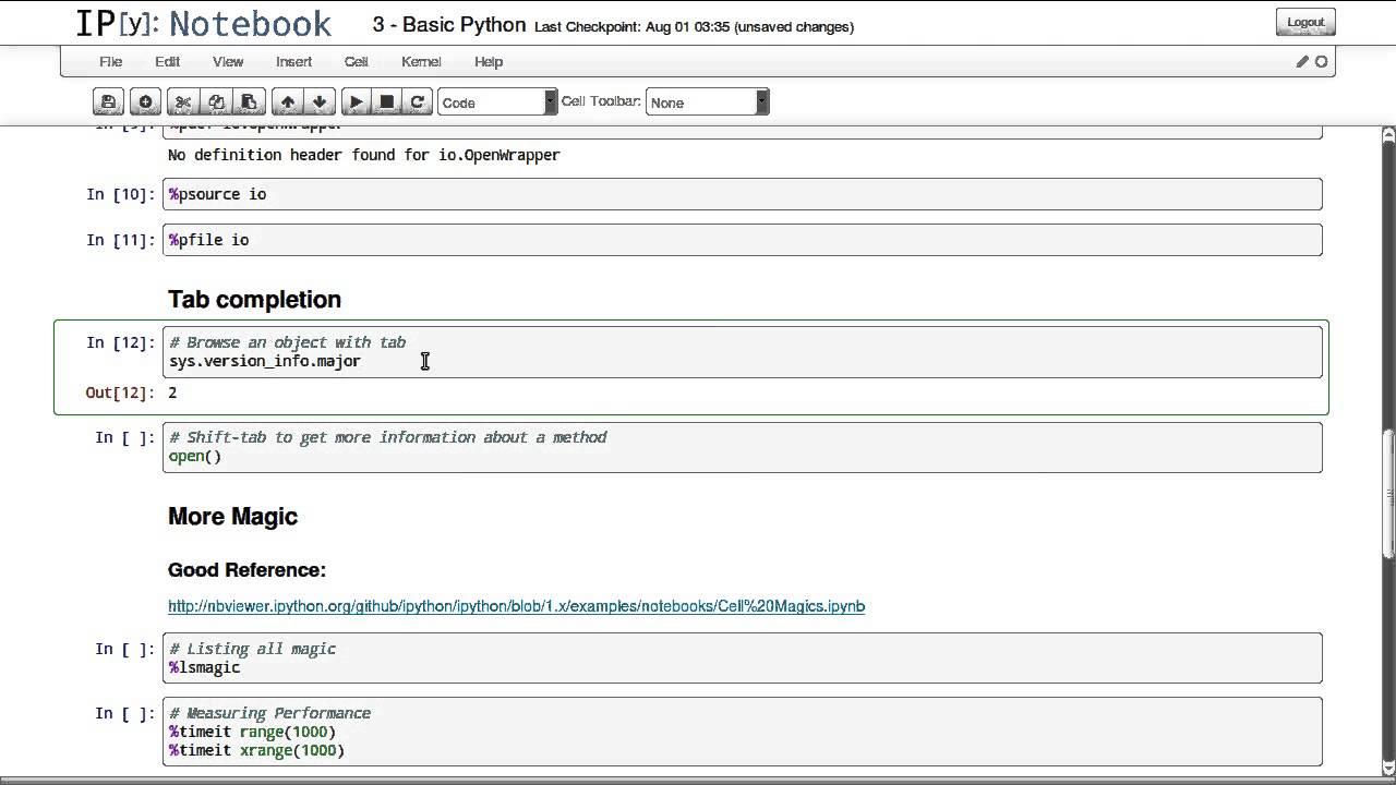 3  Basic Python - IPython Tutorial (RAW)