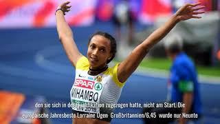 Leichtathletik-EM: Malaika Mihambo holt Gold im Weitsprung