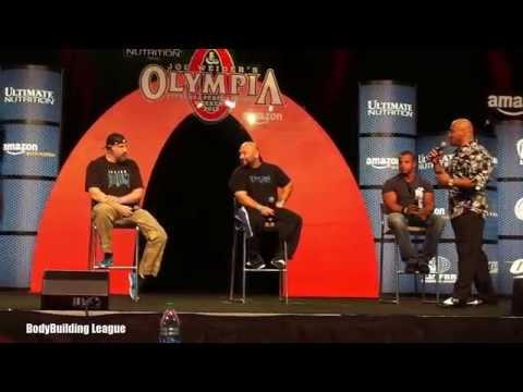 Battle of The Gurus @ 2015 Mr Olympia Expo - Pt.1