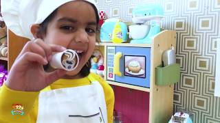 Katy Play Toy Food Cafe and Fishing Playset | Katy Cutie Show