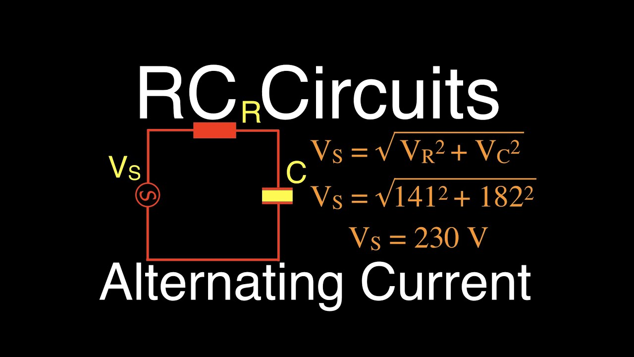 Rlc Circuits 10 Of 14 Series Rc Calculating Impedance Current Is To Build A Simple Circuit With Resistor And Voltage