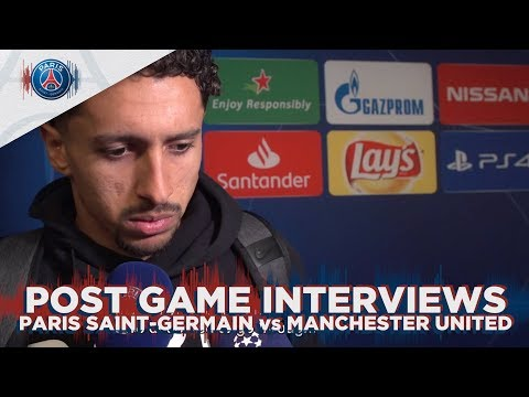 POST GAME INTERVIEWS - PARIS SAINT-GERMAIN vs MANCHESTER UNITED
