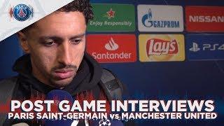 POST GAME INTERVIEWS - PARIS SAINT-GERMAIN vs MANCHESTER UNITED