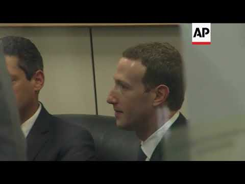 Zuckerberg Meets with Lawmakers Ahead of Hearing