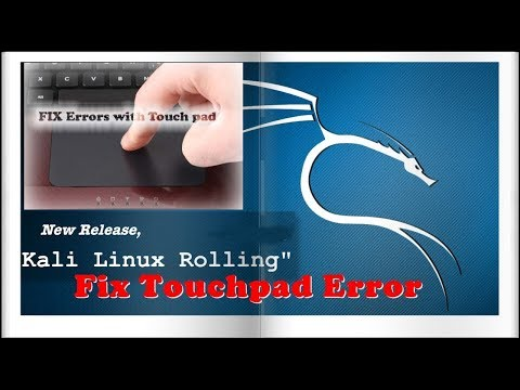 Kali Linux Tap To Touch Fix | Touchpad Tapping Error Solved -- KALILINUX 100%working