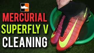 How to clean Nike Superfly V Football Boots | Ronaldo Mercurial 5 Soccer Cleats