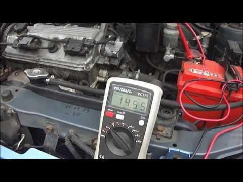 Engine cranking voltage drop