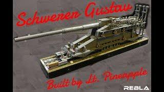 LEGO WWII : Schwerer Gustav Railway Gun (Venray 2017)