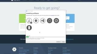 Installing Xamarin Tools for Visual Studio 2015