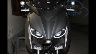 Yamaha XMAX Custom Headlamp Projector LED, The Ultimate Pride !!