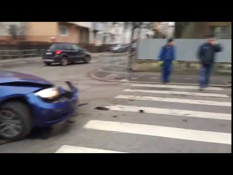 Accident Fan Curier Cluj