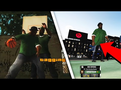 BIG SMOKE THE 5'8 POST SCORER ON PARK NBA 2K19 (PLAYGROUND GAMEPLAY)