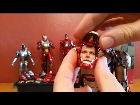 1//6 scale toy Hot Toys Iron Man The Mandarin Headsculpt