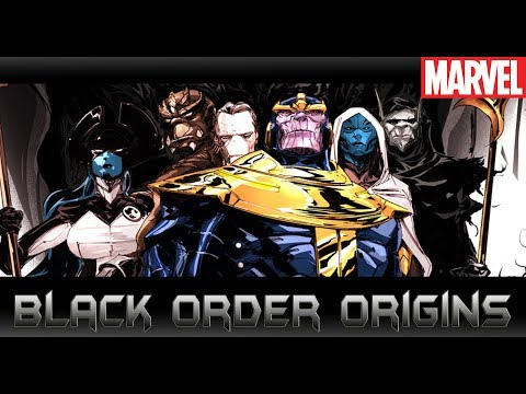 ตัวร้ายAvengers Infinity Warเหล่าขุนพลของThanos[ Black Order Origins ]comic world daily