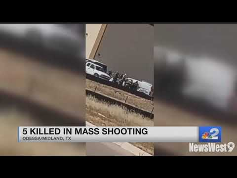 At least 5 dead in West Texas shooting according to police