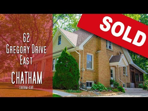 CHATHAM-KENT- 62 Gregory Drive East - Chatham [propertyphotovideo]