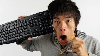 キーボードは便座より汚い!?バイ菌だらけのキーボード大掃除大作戦 thumbnail