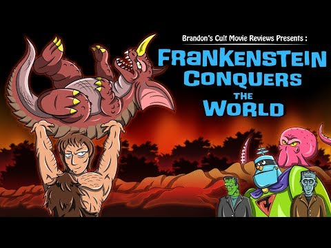 Brandon's Cult Movie Reviews: FRANKENSTEIN CONQUERS THE WORLD