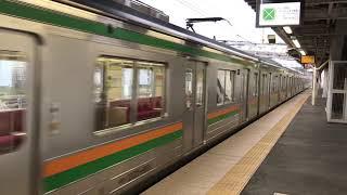 JR東日本205系Y1編成(小山車両センター)。
