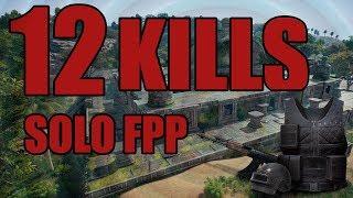 BAAL 11 GEWINNER  Sanhok Pro Gameplay: MKdivine 12 KILLS Solo FPP
