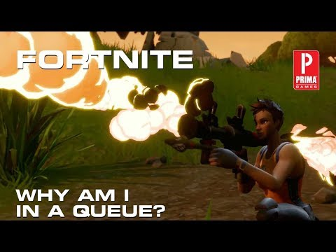 Fortnite - Why Am I in Queue?