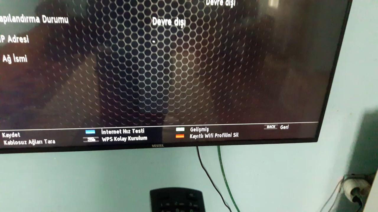 VESTEL TV WİFİ İNTERNETE BAĞLANMA SORUNU KESIN ÇÖZÜMÜ