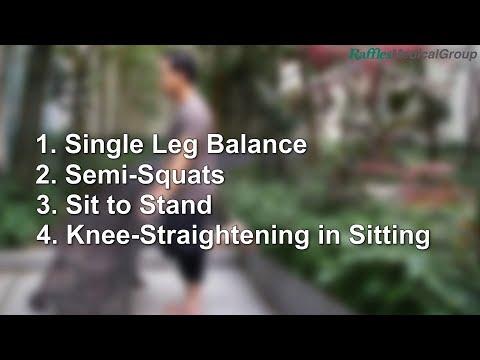 Strengthening Exercises for Knee Osteoarthritis (Part 1)