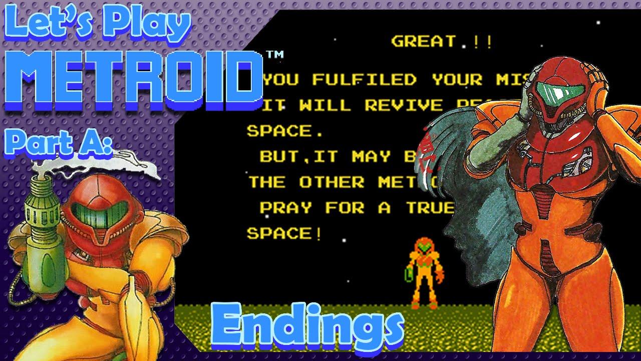 Metroid Zero Mission / Fusion ending cards | Metroid | Know Your Meme