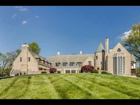 Modern $4 Million 15,000 SQ FT 6 Bed 4 Bath Medieval Castle on 14 Acres in Dublin Ohio USA