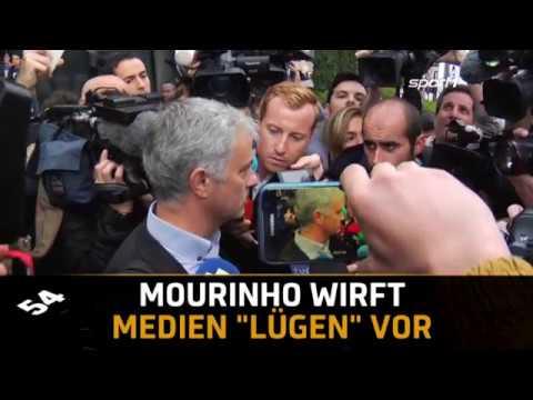 """""""Lügen!"""" Jose Mourinho dementiert schlechtes Verhältnis zu Paul Pogba   SPORT1 TRANSFERMARKT"""