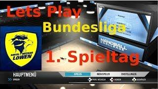 Lets Play: IHF Handball Challenge 14 [1080p/Deutsch/Liga/RNL] 1. Spieltag